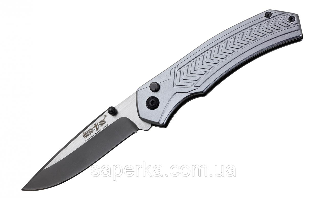 Нож складной для ежедневного ношения с клипсой Grand Way  E-43