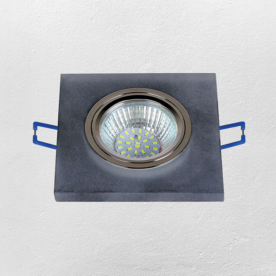 Точечный врезной светильник (модель 16- MKD038 MR16)