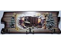 Настенная декоративная ключница KC362, ключница на 6 крючков