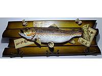 Настенная ключница в морском стиле KC207, ключница 6 крючков, подарок рыбаку