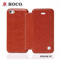 HOCO Crystal book leather case for iPhone 5C
