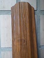 Евроштакетник под дерево  0,4 мм тип 2