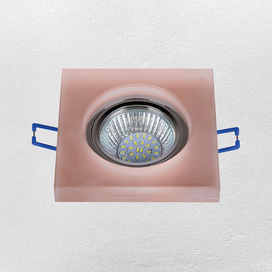 Точечный врезной светильник (модель 16- MKD049 MR16)