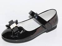 Туфли р31-18.8 см Apawwa Румыния черные для девочек