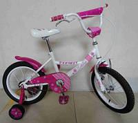 """Детский двухколесный велосипед Azimut Kathy -12"""" , розовый***"""