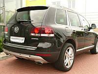 Накладка на задний бампер (KING-KONG) Volkswagen Touareg 2003-10