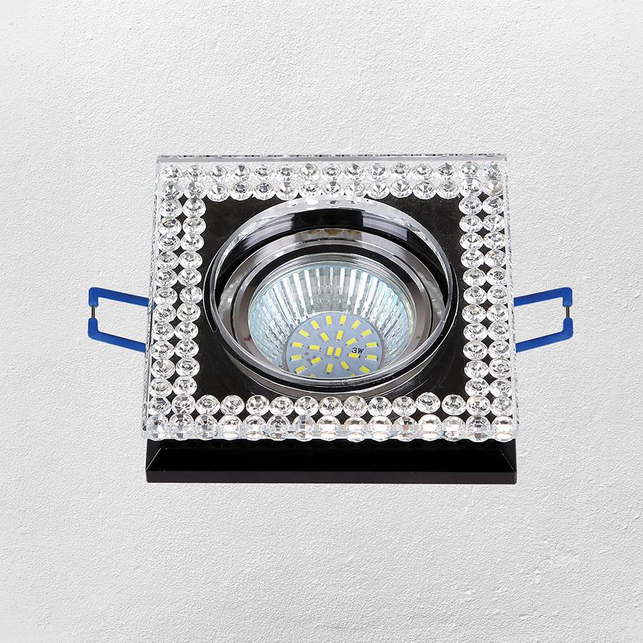 Точечный врезной светильник (модель 16- MKD088 MR16)