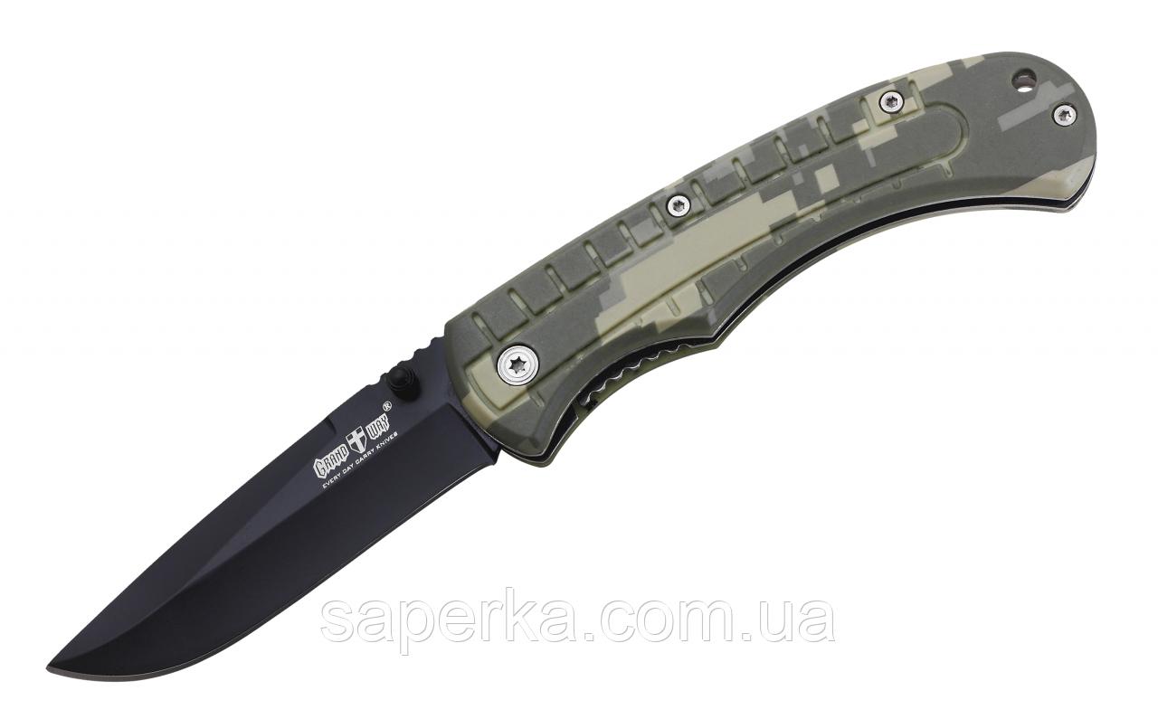 Нож складной универсальный Grand Way E-27