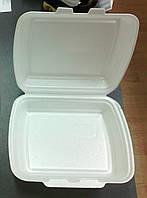 Ланч-Бокс для обедов из полистирола, 250*195*68