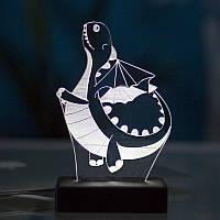 Настольный светодиодный 3D светильник  ДРАКОН