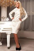 Платье женское нарядное из парчи