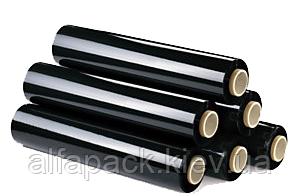 Стрейч пленка паллетная черная, 50*500, 20мкм