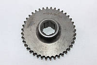 Шестерня 1 промежуточного вала Z=40 мотоблока