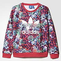 Джемпер для девочек adidas originals s rose (Артикул: S96102)