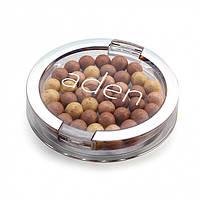 Aden Пудра в шариках 233 Powder Pearls (03/Almond) 21 gr