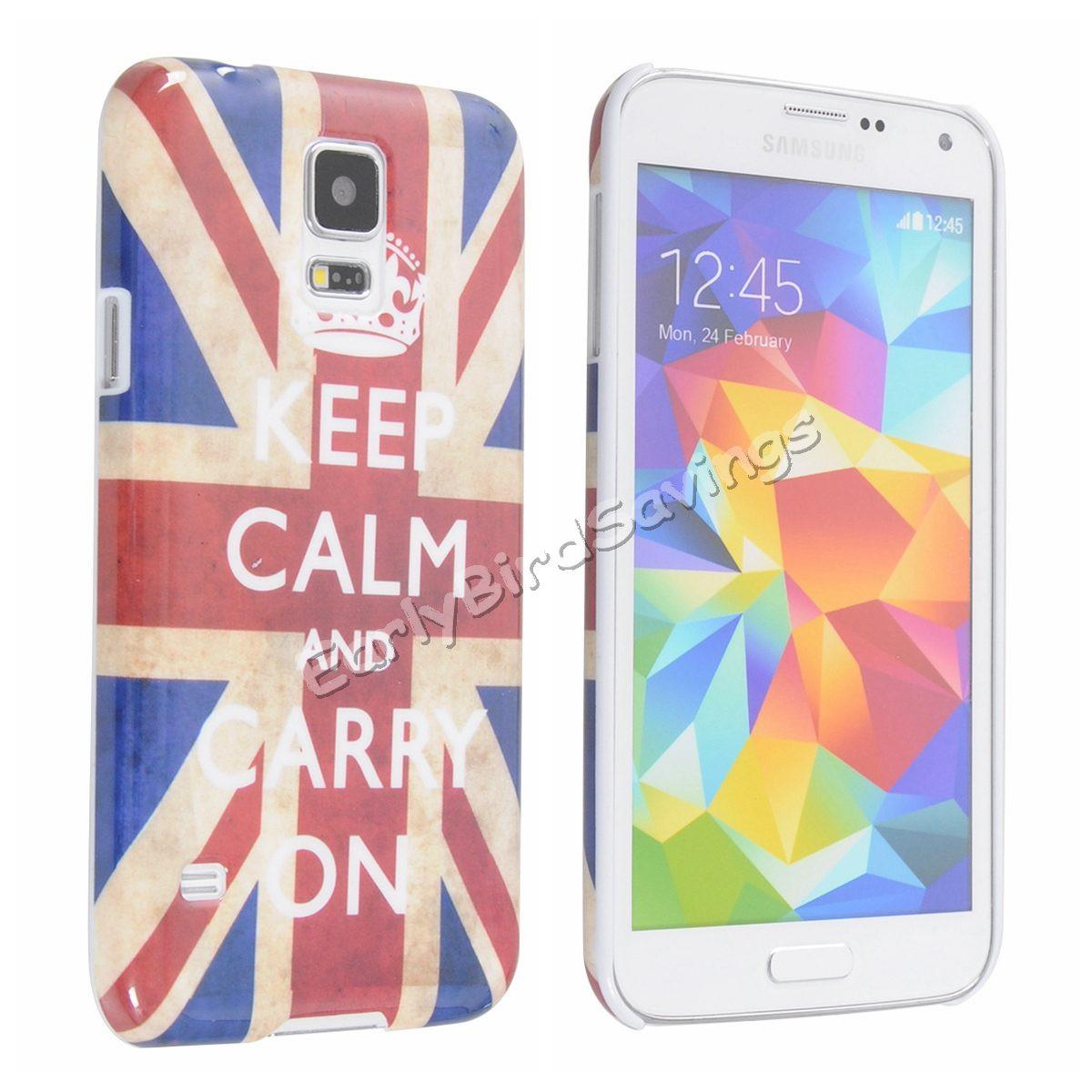 Пластиковый чехол Samsung Galaxy S5 i9600, G127