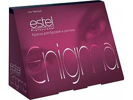 Стойкая краска для бровей и ресниц Estel Professional Enigma