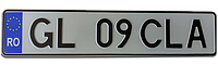Румынский номер на автомобиль