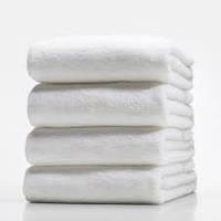 Полотенце хлопок белое 500г/м2,  140х70 см