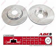 Диск тормозной передний ABE C31097ABE OPEL VIVARO; RENAULT TRAFIC II 1.9D-2.5D 03.01-