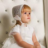 Кружевная шапочка Белла (Изабелла) от Miminobaby кремовая