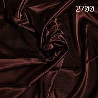 Портьера Шанзелизе цвет: коричневый горький шоколад