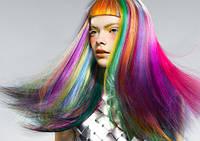 Радуга на волосах: как без вреда выкрасить пряди ребенка в яркие цвета