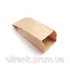 Пакет бумажный 220*100*70  крафт 1000шт/ящ