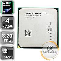 Процессор AMD Phenom II X4 955 (4×3.20GHz/6Mb/AM3) Black Edition 125W БУ