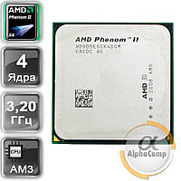 Процессор AMD Phenom II X4 955 (4×3.20GHz/2Mb/AM3) Black Edition 125W БУ