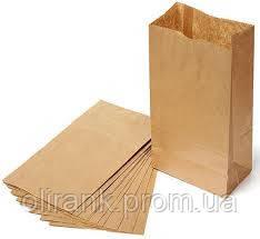 Пакет бумажный 270*140*60 крафт1000шт/ящ
