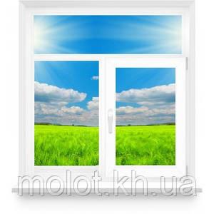 """Металлопластиковое окна в кухню """"Сталинка"""""""