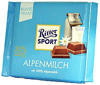 Шоколад молочный Ritter Sport Alpenmilch 100г.