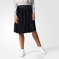 Женская плиссированная юбка Adidas Originals Pleated BK6187 - 2017