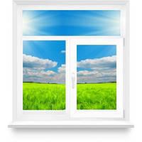 """Металлопластиковое окно в комнату с одной створкой, """"Сталинка"""""""