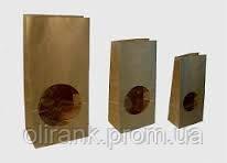 Пакет бумажн. для чая и кофе с окошком 190*85*60 1000шт/ящ