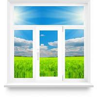 """Металлопоатиковое окно с одной створкой Т-образное """"Сталинка"""""""