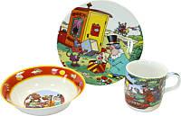 Детский набор посуды Фунтик 190