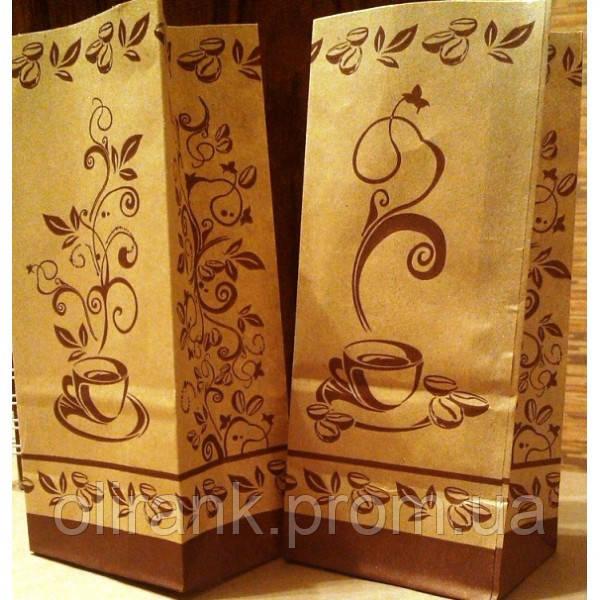 Пакет бумажн. для чая и кофе РИСУНОК 190*85*60 1000шт/ящ
