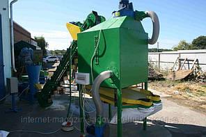 Охладитель гранул и пеллет (8 кВт, 380 В, 1000 кг/час)