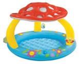 Надувной бассейн Intex грибок