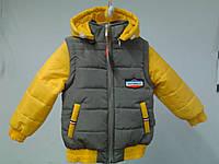 Курточка-трансформер деми  110р.