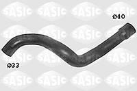 Патрубок (шланг, трубка) радиатора охлаждения выпускной (нижний) от радиатора к трубке-распределителю GM 1337556 9202896 для моторов X14XE Z14XE