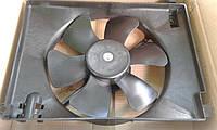 Вентилятор радиатора Авео Т-250, Т-255 с конд. (оригинал)  GM Корея