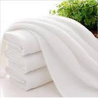 Полотенце белое плотное сауна 100х150 см