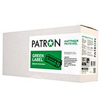 Картридж Patron (PN-FX10GL) Canon MF4018/4120/4140/4150/4270/4660PL/4690PL/Fax L100/120/140/160 Black (аналог Canon FX-10) Green Label