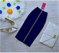 Юбка женская Березка темно-синяя , женская одежда