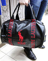 Мужская сумка Polo Ralph Lauren, черного цвета