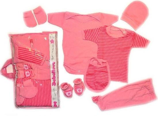 """Детская одежда  (Турция).Подарочный набор для новорожденных 7 предметов. Размер 0-3 мес. -  Детская одежда из Турции оптом """"ISTANBUL BABY"""" в Днепре"""