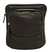 Кожаная мужская сумочка Mk12.2 черная